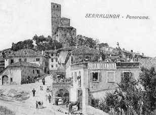 Historical photo of Albergo Ristorante Italia at Serralunga d'Alba